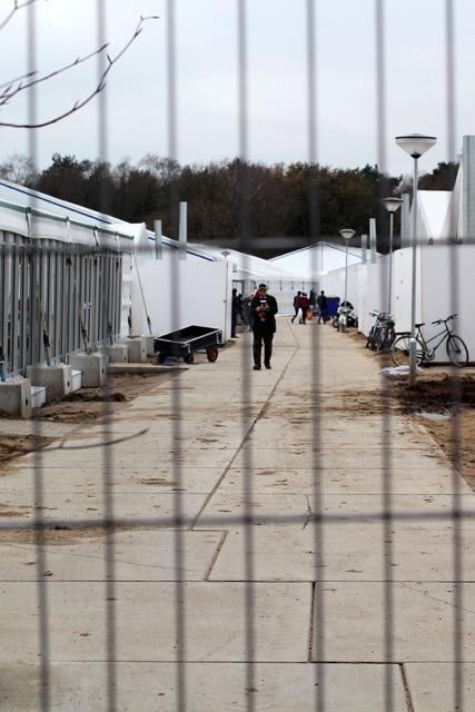 Shooting Range - Refugee camp - Photography